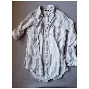 Tops - XS Lightweight Faded Flannel